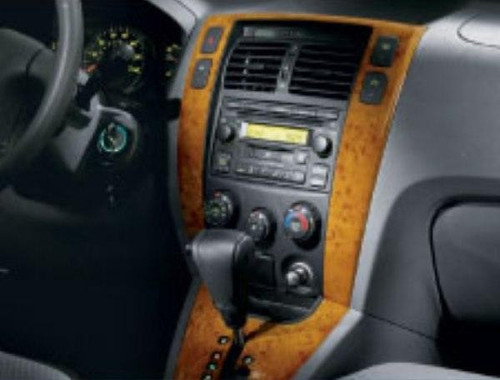 Hyundai Tucson Center Facia - Wood Grain