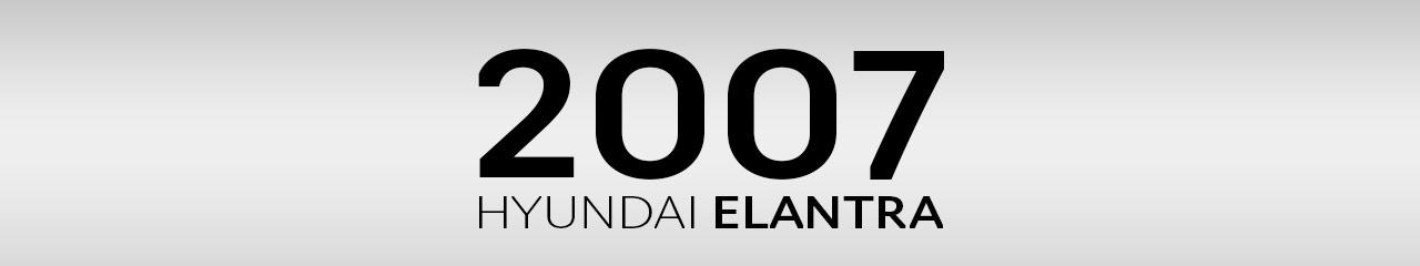 2007 Hyundai Elantra Accessories and Parts