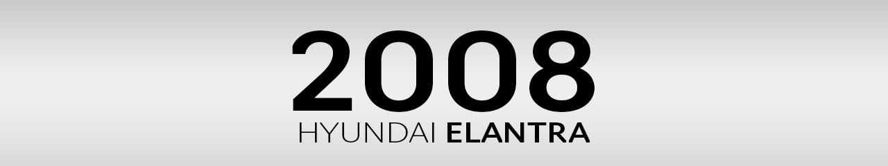 2008 Hyundai Elantra Accessories and Parts