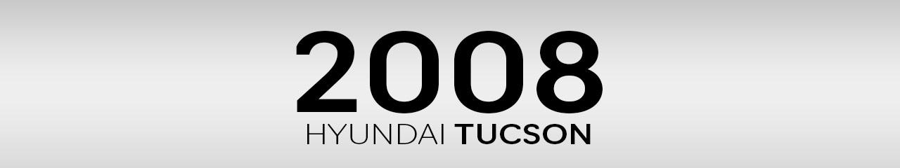 2008 Hyundai Tucson Accessories and Parts