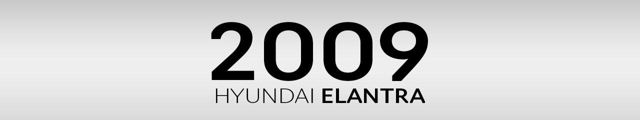 2009 Hyundai Elantra Accessories and Parts