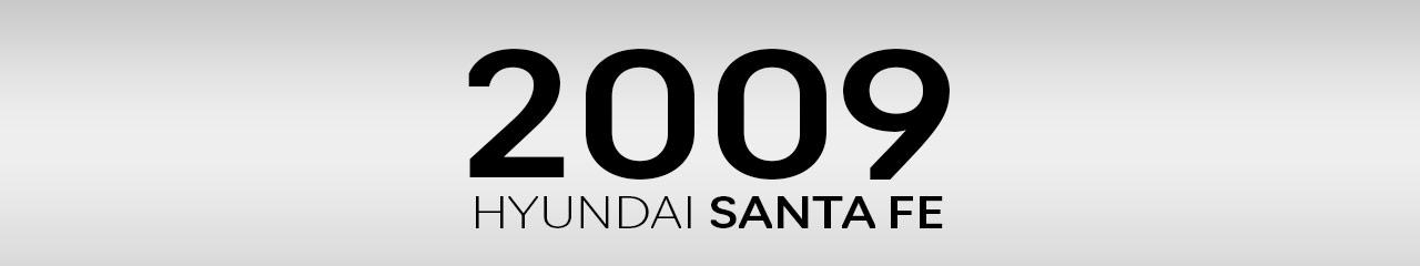 2009 Hyundai Santa Fe Accessories and Parts
