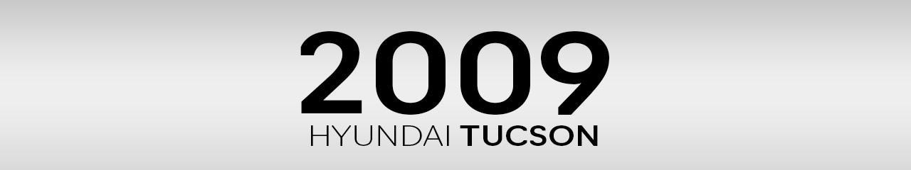 2009 Hyundai Tucson Accessories and Parts