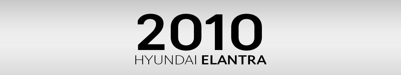 2010 Hyundai Elantra Accessories and Parts