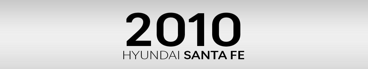 2010 Hyundai Santa Fe Accessories & Parts