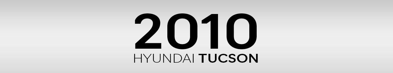 2010 Hyundai Tucson Accessories and Parts