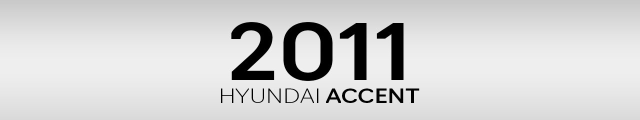 2011 Hyundai Accent Accessories and Parts