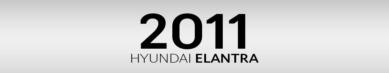 2011 Hyundai Elantra Accessories and Parts