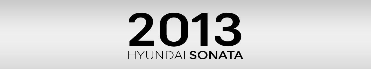 2013 Hyundai Sonata Accessories and Parts