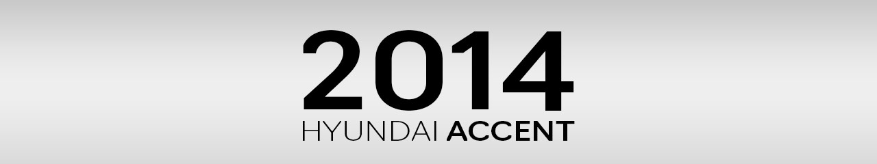 2014 Hyundai Accent Accessories and Parts