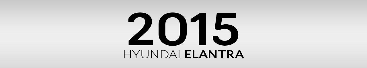 2015 Hyundai Elantra Accessories and Parts