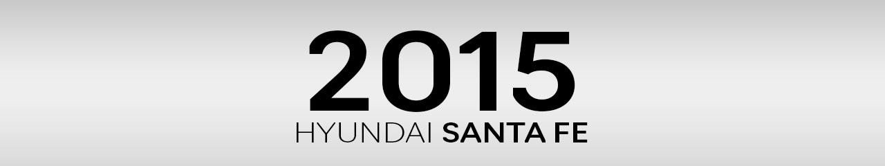 2015 Hyundai Santa Fe Accessories and Parts