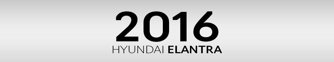2016 Hyundai Elantra Accessories and Parts