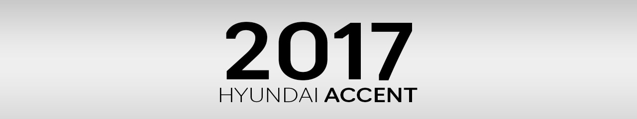 2017 Hyundai Accent Accessories and Parts