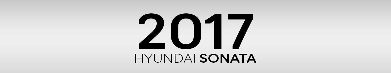 2017 Hyundai Sonata Accessories and Parts