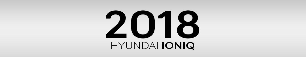 2018 Hyundai Ioniq Accessories and Parts