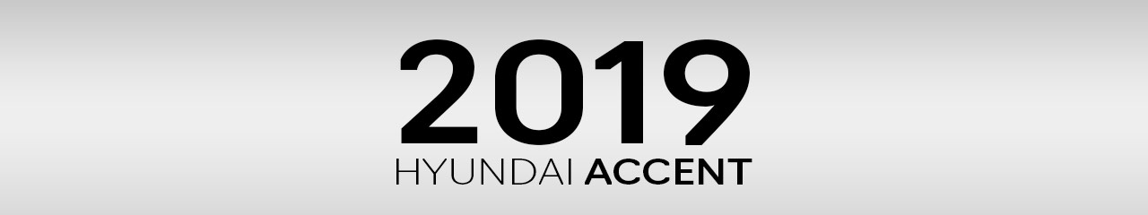 2019 Hyundai Accent Accessories and Parts