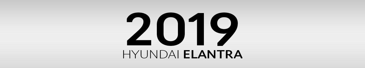 2019 Hyundai Elantra Accessories and Parts
