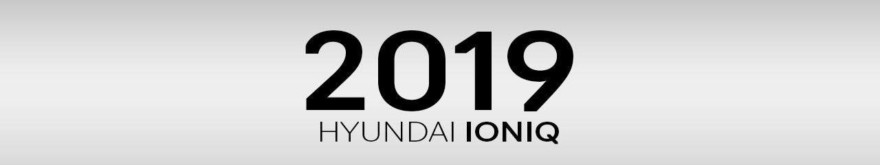 2019 Hyundai Ioniq Accessories & Parts
