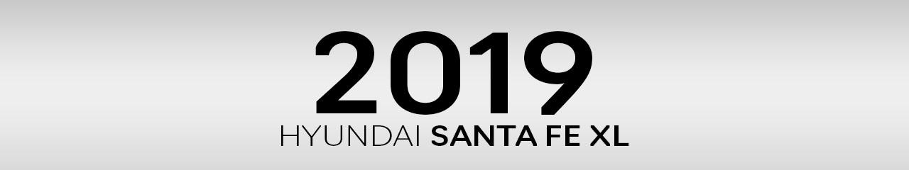 2019 Hyundai Santa Fe XL Accessories and Parts