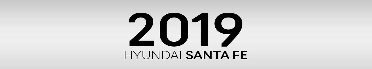 2019 Hyundai Santa Fe Accessories and Parts