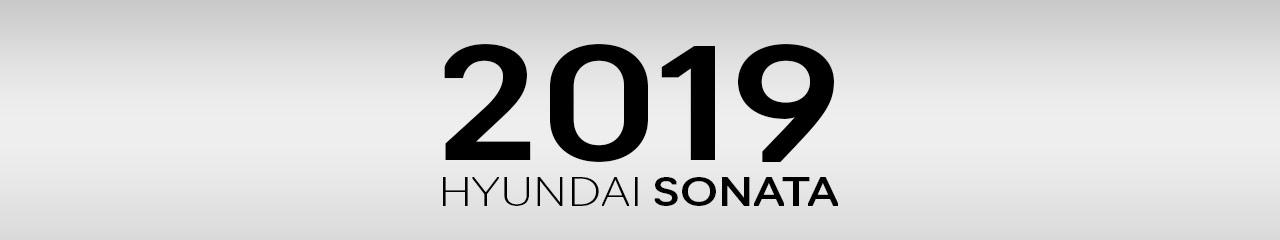 2019 Hyundai Sonata Accessories and Parts