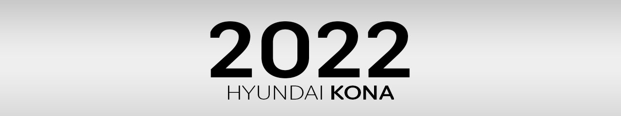 2022 Hyundai Kona Accessories and Parts