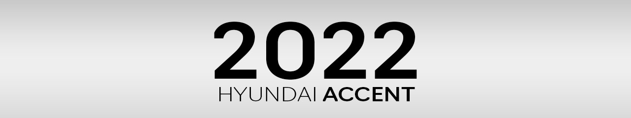 2022 Hyundai Accent Accessories and Parts