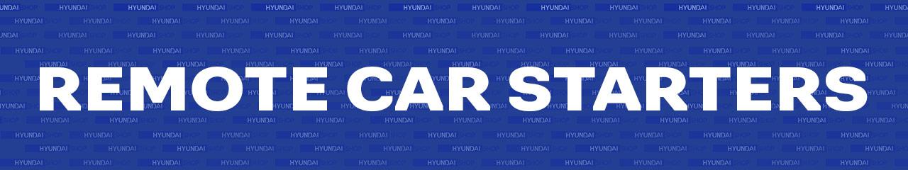 Hyundai Remote Starters