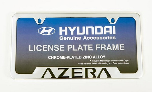 Hyundai Azera License Plate Frame Free Shipping