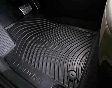 2018 2020 Hyundai Elantra Rubber Floor Mats Free