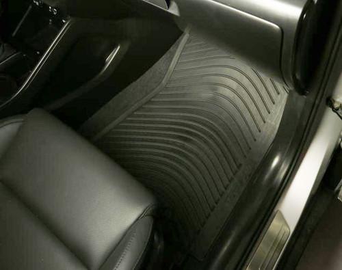 All Weather Largest Coverage Waterproof TuxMat Custom Car Floor Mats for Hyundai Tucson 2019-2020 Models/- Laser Measured Full Set - Black The Ultimate Winter Mats