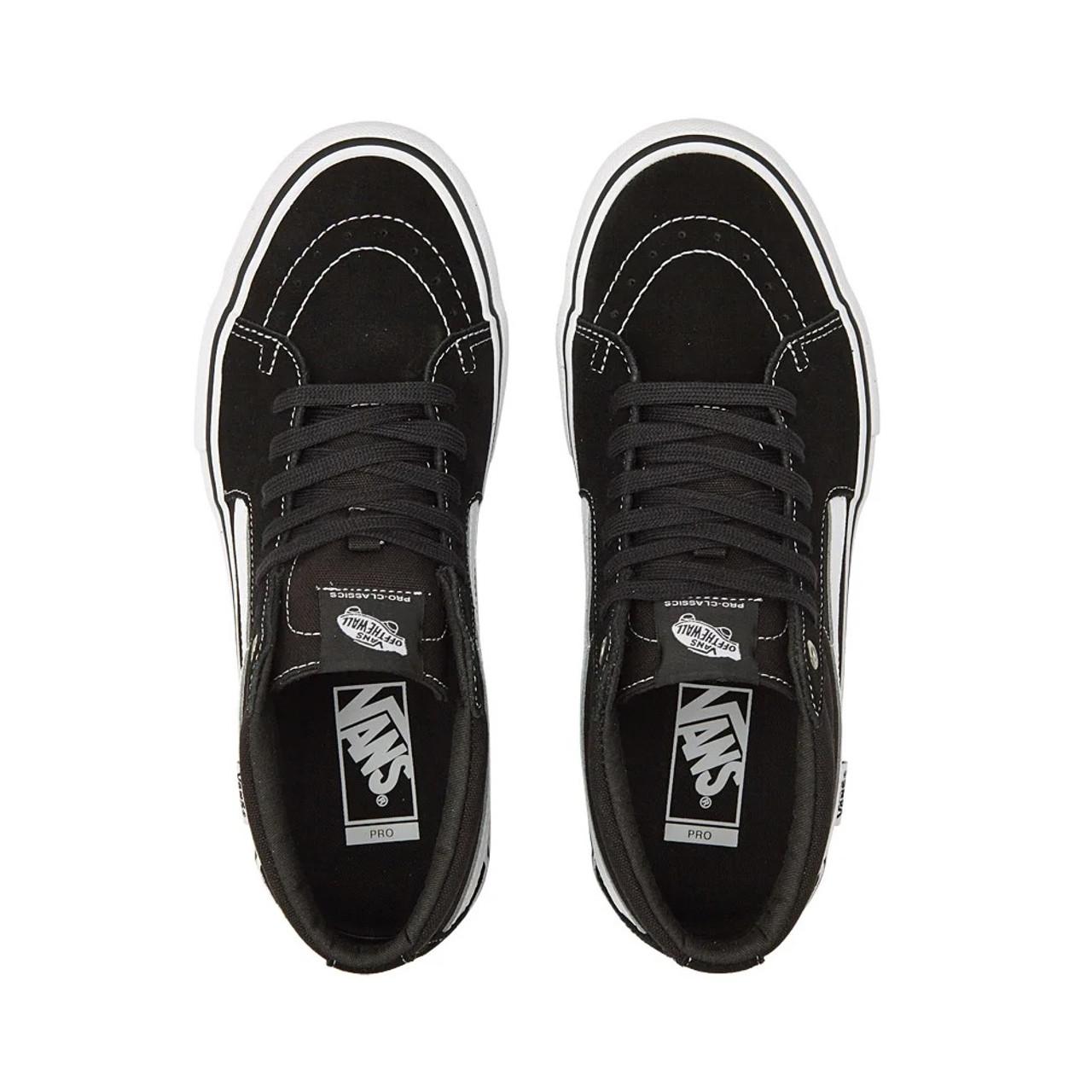 VANS Sk8-Mid Pro Shoes Black/White