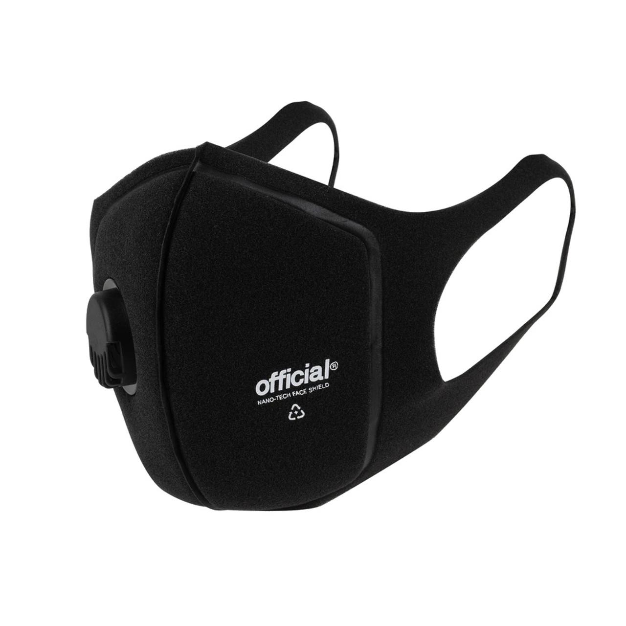 OFFICIAL NANO-RPF Face Shield Facemask Black