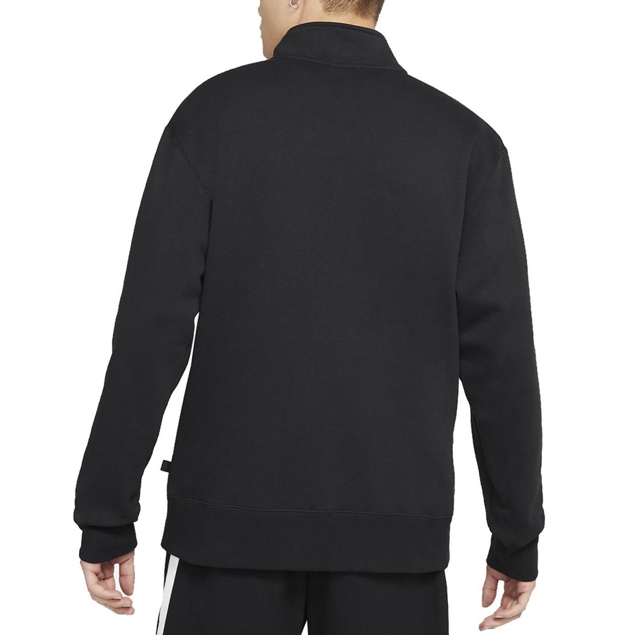 NIKE SB March Radness Mockneck Quarter Zip Black