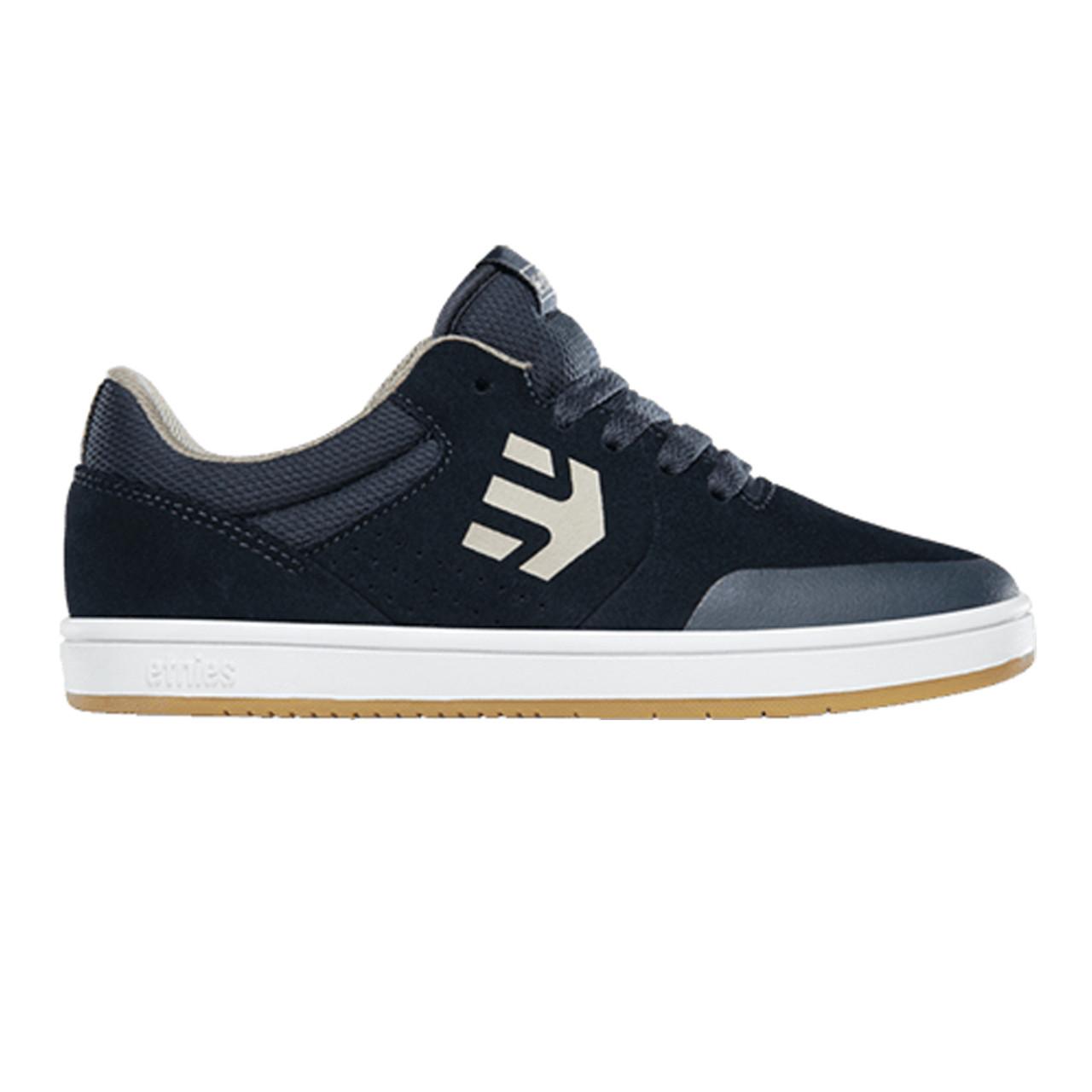 ETNIES Marana Kids Shoes Navy/Tan