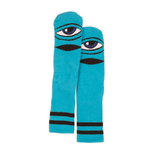 TOY MACHINE Sect Eye Crew Socks Blue