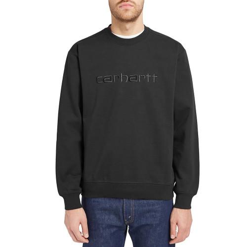 CARHARTT Carhartt Logo Sweat Black/Black