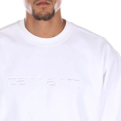 CARHARTT Carhartt Logo Sweat White/White