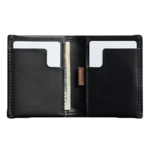 BELLROY Slim Sleeve Leather Wallet Black