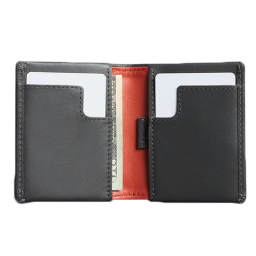 BELLROY Slim Sleeve Leather Wallet Charcoal