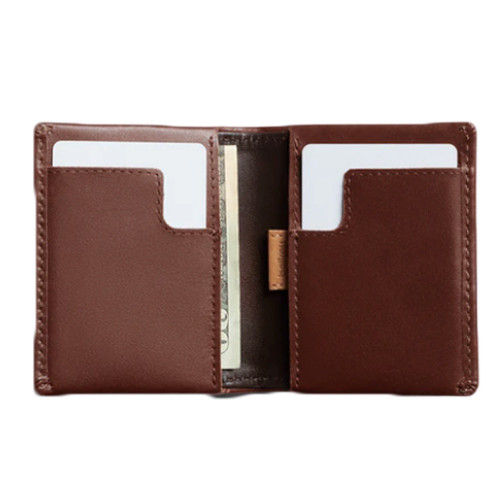 BELLROY Slim Sleeve Leather Wallet Cocoa