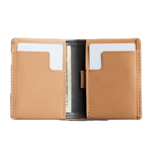 BELLROY Slim Sleeve Leather Wallet Tan