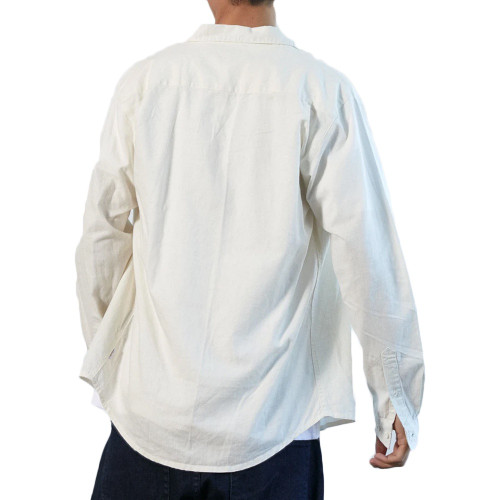 AFENDS Everyday Hemp LS Shirt White