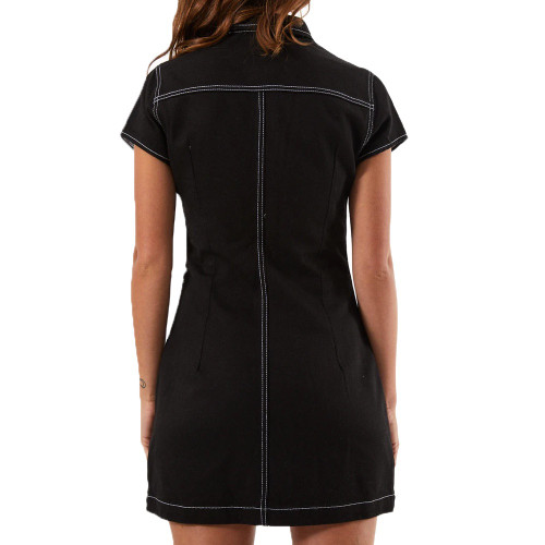 AFENDS Mary Kate Dress Black