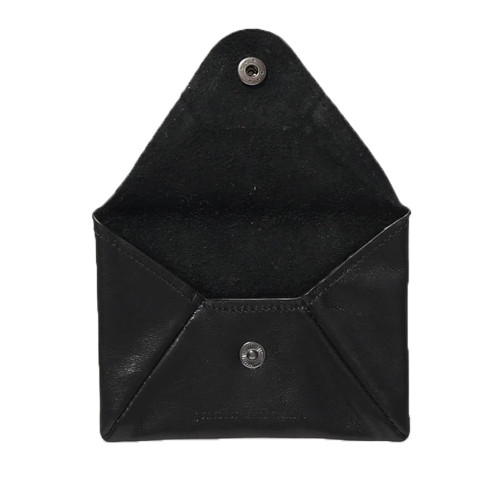 AFENDS Holdall Leather Pouch Wallet Black