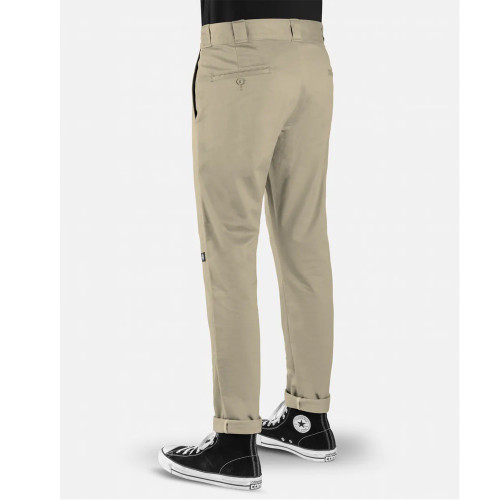 DICKIES 811 Skinny Double Knee Work Pants Desert Sand