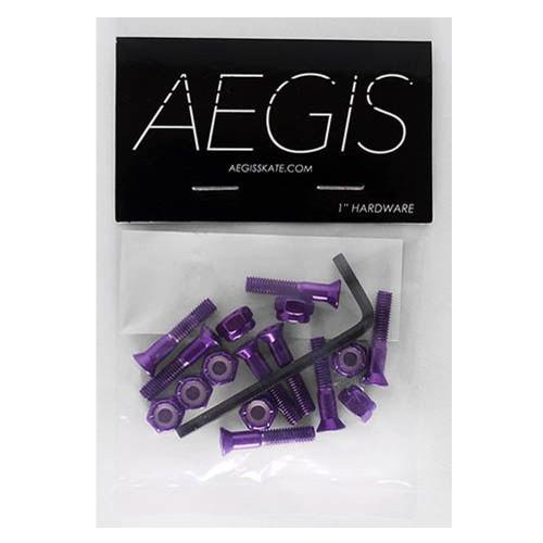 AEGIS Purple Anodised 1 Allen Key Hardware