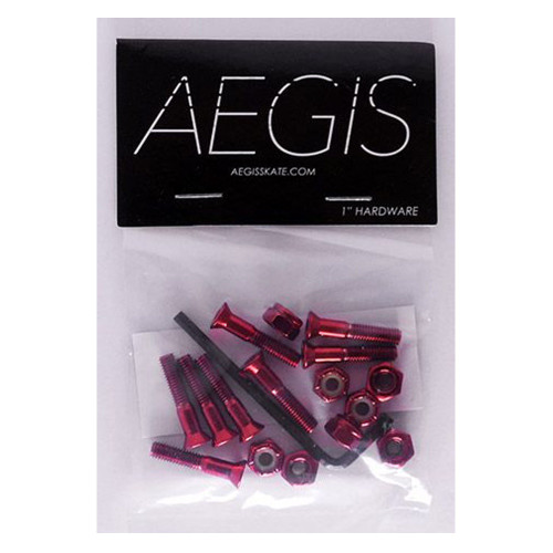 AEGIS Red Anodised 1 Allen Key Hardware