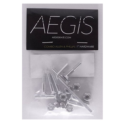AEGIS Silver Anodised 1 Allen Key Hardware